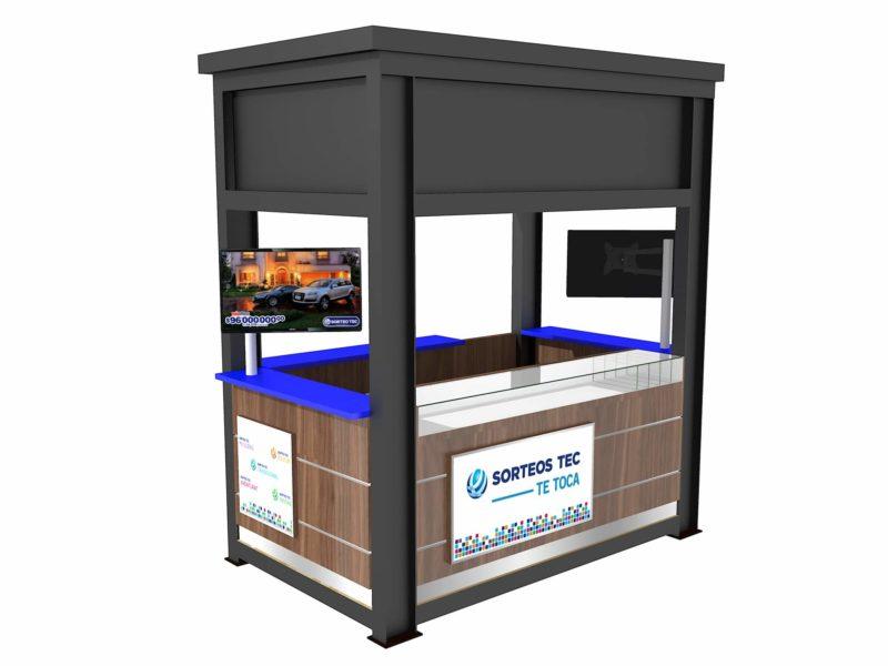 Kiosko para Exterior